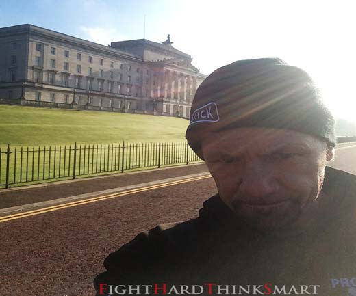 Billy Murray and team will be at Stormont today - 3rd of October 2015