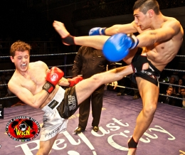 Photographs and Video of every fight are under construction for KICKmas 2013 Belfast - keep your eyes right here on our web-site for more.