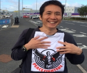 Hiro Mochizuki is a PeaceFighter was back in Belfast on vacation and came straight to the gym to up-date his kickboxing knowledge.