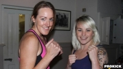 Samantha Robb Vs Aoife Sharkey Boxing in Galway - VIDEO