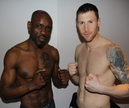 Johnny Smith will top the Bill on New Breed show 13th April 2014 (tomorrow Sunday) - fighters weighed-in head of tomorrow's show. Sassy and Smith hit the scales at 69kg.