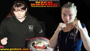 Ursula Agnew Vs Caroline Abe - WKN World lightweight Amateur Title - VIDEO