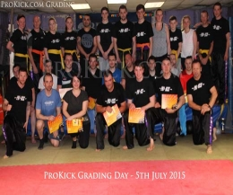 Sunday the 5th July 2015 was graduation day for some at the ProKick kickboxing school of excellence.