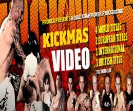 The new video web-site has been launched with fight footage from the sell-out KICKmas event Belfast 2013 the New Breed Event  2014 & Germany May 2014 - all the fights are available at a very-low PPV premium.
