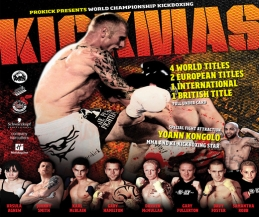 KICKmas 2013 kickboxing event had 4 world title matches, 3 European title bouts an intercontinental crown and a British title - all contested for on the same night.