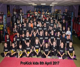 This week all ProKick Kids beginners class is schedule: for 10:45am - 11:30am: The ProKick long established junior Seniors start at 11:30am - 12.15pm: Senior Kids, green belts and above.