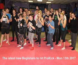 Hello and welcome to our #NewBeginners at #ProKick #HQ which kicked-off Monday 13th #FEB 2017