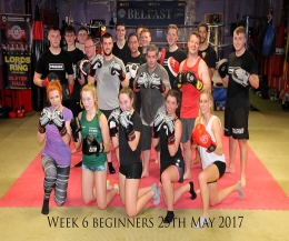 ​Yet another PROKICK Beginners course comes to an end on Thursday May 25th 2017 - A Massive well done to all.