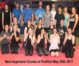 welcome to the TheOldTinHut kickboxingGym and the third new 6 week beginners course At ProKickHQ in 2017