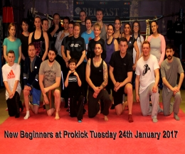 The new #BeginnersCourse at ProKick HQ kicked-off on the 24th Jan #2017