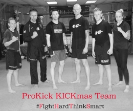 Come see and meet the ProKick Kickmas team at the ProKick Gym tonight from 6.30 - 7.15pm
