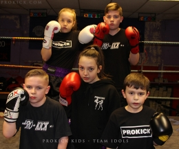 Kickboxing mad kids aged between 10-13 year-old will compete on the show packet with national and world champions.