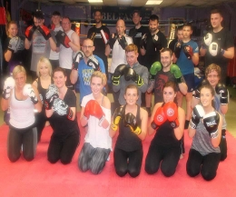 WELL DONE to all the latest ProKick beginners who finished their 6 weeks of kickboxing on Monday May 15th 2017