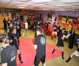 Well done all at our Wednesday night sparring class.