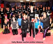 Age is just a number when it comes to WKN Bantamweight world Full-Contact champion Cathy McAleer.