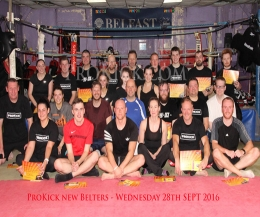 It was a special grading day for at the ProKick school of kickboxing excellence as student moved to the next level.