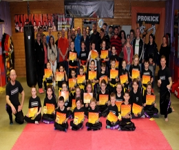 ProKick Kickboxing enthusiasts were tested in the hope of moving up to the next level at the ProKick Gym in Belfast.