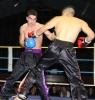 ProKick fighter Karl McBlain keeps the pressure on his opponent