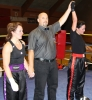 ProKick fighter Stefanie McMullen narrowly loses out on points against Swiss opponent Laeticia Mauerhofer