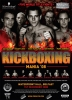 Kickboxing poster designed by Daryl Campbell Studios - 5 world titles are on offer