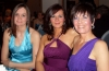 Ursula Agnew, Stefanie McMullen and Pauline Goody at the Bash n Mash