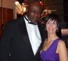 Ernesto Hoost with ProKick's Pauline Goody