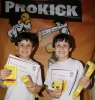 The ProKick Kids grading day ( Double trouble the Greenwood's) strutted their stuff to achieve their new belts on Sunday July 8th at the ProKick Gym