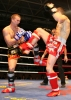 One of Northern Ireland's brightest kickboxing hopes Barrie Oliver (Right) in action in an international event