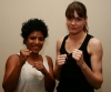 Low-kick 55-57kg 2x2 rounds Ursula Agnew (N,Ireland - ProKick winner points) Vs Shamla Therese (Norway - Ambrose gym)