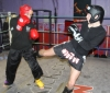 ProKick fighter Gary Fullerton hard in training with team mate Steven Forde for his up and coming bout on the ProKick Awards Night
