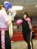 Deirre gets to gripswith sparring at proKick