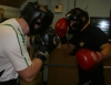 Action from todays sparring at Eastside boxing club