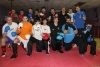 ProKick members pose for a post class shot on the level 1 sparring course first night, 16th February 2012.