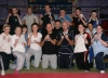 Team leaders Harry Robinson and Nigel Carson joined in on the action too at the Princes Trust prokick kickboxing class