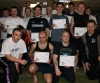 Some of the successful graduates of the Prokick Kickboxing grading