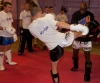 Davy Foster learns blocks from K1 star Ernesto Hoost