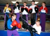 Hi I am Jordan Auld. I have been studying the art of kickboxing at this wonderful gym for over 8 years - I'm the 3rd from the left on the back row