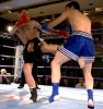 Gary Hamilton in previous Kickboxing action - now he will compete in the dangerous Muay Thai division on October 19 in Italy