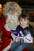 Riley meets his other - hero Father Christmas