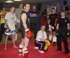 some of the ProKick Motley-Crew who will step into the ring over the next couple of weeks after a hard sparring class.