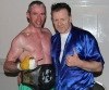 New European Champion Ken Horan with ProKick head coach Billy Murray
