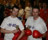 Eddie Salmon was joint winner in the points style event he faced new orange belt Ross Hamilton,