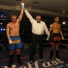 Barrie Oliver (N. Ireland) wins over Mustapha Ahdala (France) in a very close Low kick kickboxing bout
