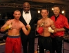 The judges had no difficulty with this one as it was a shut-out on all judges' cards in favour of Hamilton. Gary was honoured to receive his winning trophy by K1 Kickboxing Legend Ernesto Hoost.