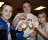 Emma Davey, Aimee McKee and Niamh Dougal - Joint Freeze competition winners