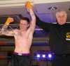 A Happy Gary Fullerton says it all as he wins by stoppage in the third round