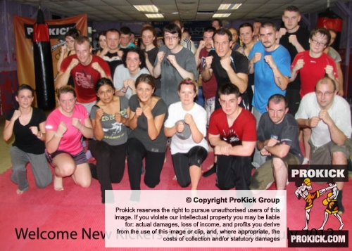A New fitness class ProKick Style Kicked off at the Kickboxing School of excellence on July 24th 2012