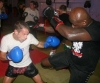 "Gary Hamilton in action with it was great K1 Legend Ernesto Hoost- to be given advice from Legend Mr Hoost is beyond words."" Said Gary Hamilton."