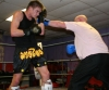 Stuart Jess and Mark Bird sparring on Sunay