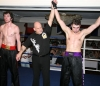 Tomas wins first kickboxing match in Scotland